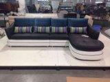 Sofá de couro de sala de estar de alta qualidade de design novo (M303)