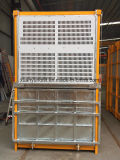 Ascenseur de construction de la fréquence 0~63m/Min Sc320/320 avec l'inverseur de Siemens