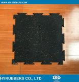 衝撃の証拠によってリサイクルされるゴム製床タイル