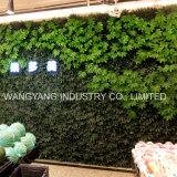Künstliche Simulations-Firmenzeichen-Grünpflanze-Wand mit LED-Licht