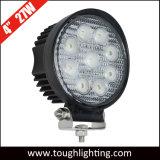 As luzes LED Auto 12V 4inch 27W Round spot LED de feixe de inundação da Luz de Trabalho