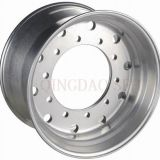 Из полированного алюминиевого сплава и поддельных погрузчик колесный диск (22,5 X9.00)
