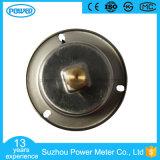 40mm 플랜지를 가진 액체에 의하여 채워지는 압력 계기