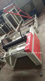 Máquina de enrolar dobrável de material de corte a quente