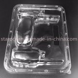 Plástico PVC / PP / Pet Packaging Cosmetic Clear Case