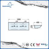 Dissipador de lavagem da bacia cerâmica do gabinete e da mão superior da vaidade (ACB2204)