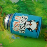 昇進の折りたたみネオプレンビール飲料缶のクーラー、短いホールダー(BC0042)