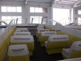 Aqualand 28feet 8.6m Fiberglass Water Taxi 또는 Ferry Motor Boat/Passenger Boat (860)