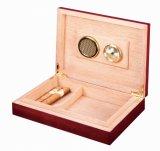 Ashtree Klavier-Ende-hölzerner Fertigkeit-Zigarre-Verpackungs-Geschenk-Kasten