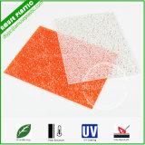 Het hete Blad van het Polycarbonaat van het Blad van Lexan van de Verkoop Plastic Diamant In reliëf gemaakte