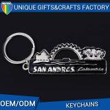 Attractive Bespoken Metal Charms Porte-clés pour Souvenirs Mode Custom