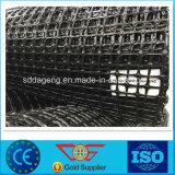 Uitgedreven Plastic Tweeassig van pp/Unixial Geogrid voor Behoudende Muur