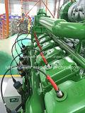 Preço padrão do jogo de gerador do biogás da potência verde 500kw do Ce