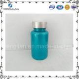 bottiglia di plastica blu del livello superiore 120ml con la norma ISO