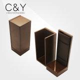 Прямоугольная коробка ювелирных изделий деревянной рамки