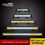 CREE branco azul ambarino da barra clara do diodo emissor de luz do caminhão de reboque da cor