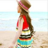 면과 리넨 국제적인 바람 조끼 복장을 바느질하는 아이들의 옷