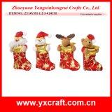 Игрушка Санта рождества украшения рождества (ZY14Y391-1-2-3-4)
