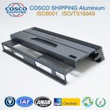L'extrusion de profilés en aluminium OEM concurrentiel pour l'amplificateur avec usinage CNC