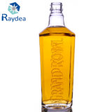 bouteille 700ml en verre faite sur commande en glace de silex superbe