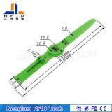 Kundenspezifisches Gummiband des Silkscreen-RFID mit Anker