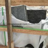 タイルおよびカウンタートップ(夜点の花の雪)のための中国の白黒花こう岩の平板