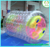 Rouleau de l'eau en PVC colorisée