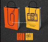 Bolsa de papel Kraft/bolsa de regalo de Navidad/bolsas reutilizables.