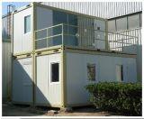 美しく小さい木の形の拡張可能容器の家デザインフラットパックの拡張可能容器の家