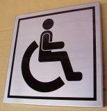 Het openlucht Acryl Openbare Teken Van uitstekende kwaliteit van het Bericht van het Toilet