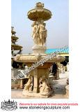 Fontana di marmo, fontana di pietra intagliata e fontana esterna del giardino (SK-2423)