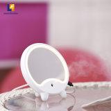 Kundenspezifische moderne helle runde Verfassungs-kosmetischer Tisch-Spiegel