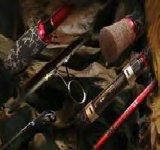 Cañas de pescar Lms001-902m la varilla de carbono de fundición en blanco cañas de pescar