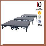 Boas Vendas Estágio de alumínio móvel portátil Br-St021