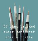 50Ω physique Câble coaxial de mousse