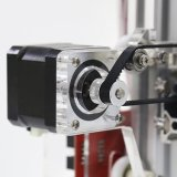 Anet 고품질을%s 가진 은빛 알루미늄 프레임 Fdm 3D 인쇄 기계