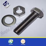 Zinco Plated/Black Finish Bolt e Nut