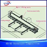 완전히 자동적인 Rollerbed 강철 큰 관 절단 및 경사지는 기계