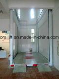 Coche de cuatro postes ascensor hidráulico para el hogar o garaje