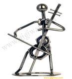 Kühle Stahlkunst-Reihe - Cello (G12)