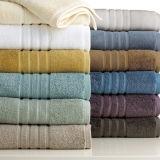 A cor 100% contínua do algodão tingiu jogos de toalha