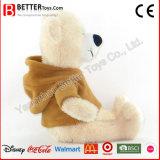 승진 선물 연약한 박제 동물 장난감 곰 견면 벨벳 장난감