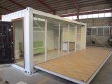 Construções prefabricadas Flat dobrável Pack China Recipiente Preço Casa de baixo custo