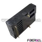 155Mbps de taxa de velocidade simétrica 1X9 transceptor de fibra óptica 20km Sc