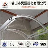中国の工場安い価格のポリカーボネートの日除けの屋根ふきシート