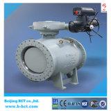 Metal tipo brida sentado excéntrico doble válvula de bola, Cuerpo de hierro dúctil BCT-E-BV04