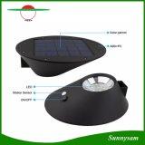 2W 7 LED de luz solar da Poupança de Energia do Sensor de movimento por infravermelhos candeeiro de parede para decoração de jardim candeeiro de parede