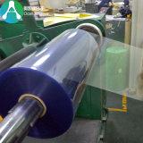 Roulis en plastique de PVC d'espace libre de 450 microns pour l'emballage de Thermoforming