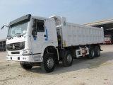 Sinotruk HOWO 8X4 50t Hyva 팁 주는 사람 덤프 트럭