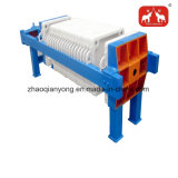 Déshydratation des boues chambre hydraulique automatique Filtre presse